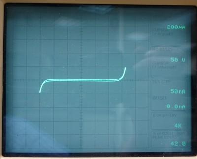 Tektronix Curve Tracer