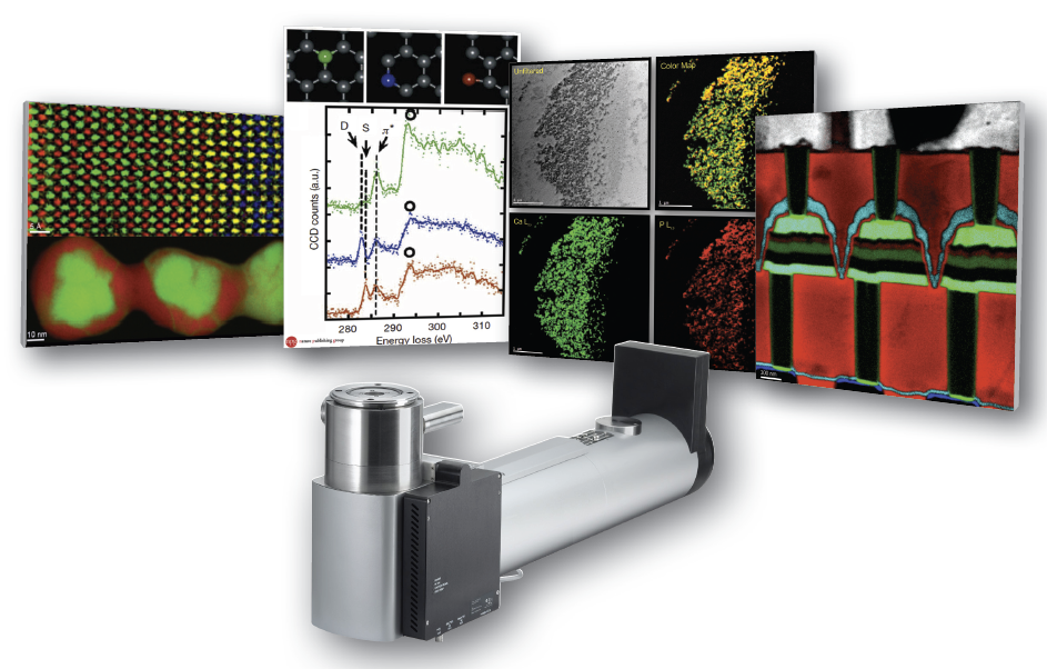 Quantum EELS Detector from Gatan - Nanolab Technologies